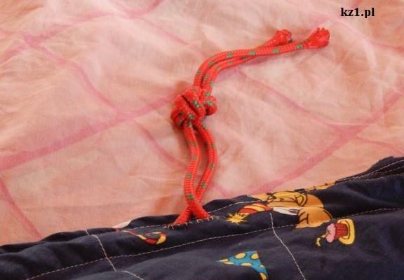 przewlekanie sznurka