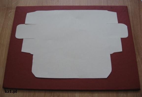 kształt pudełka