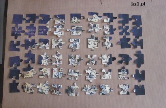dwustronne puzzle