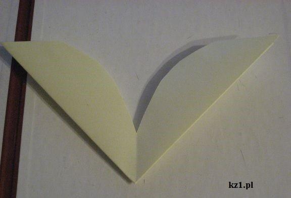 skrzydła z kartki A4