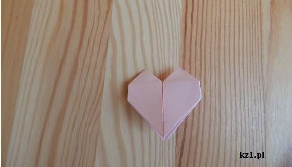 serduszko z origami