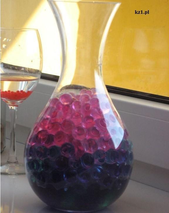 żelowe kuleczki do wazonu