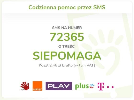 siepomaga.pl pomaganie przez sms