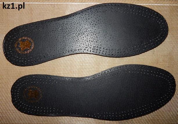 wkładki do butów skórzano lateksowe