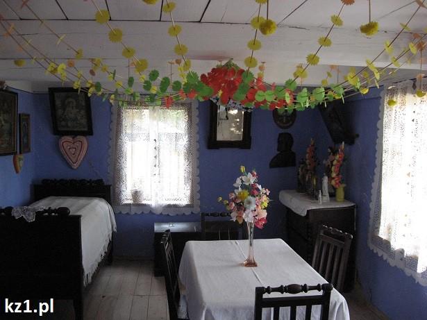 skansen sierpc - wnętrze chatki