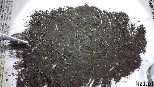 wyszukiwanie mikrometeorytów z zanieczyszczeń z ryny