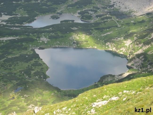 jeziora w tatrzańskim parku