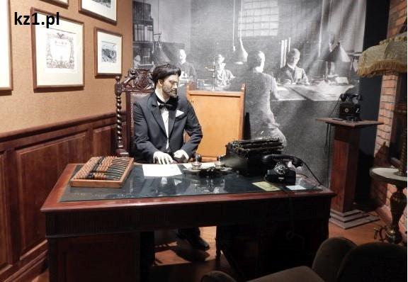 biurko w muzeum