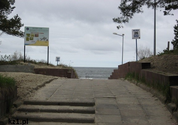 droga nad morze