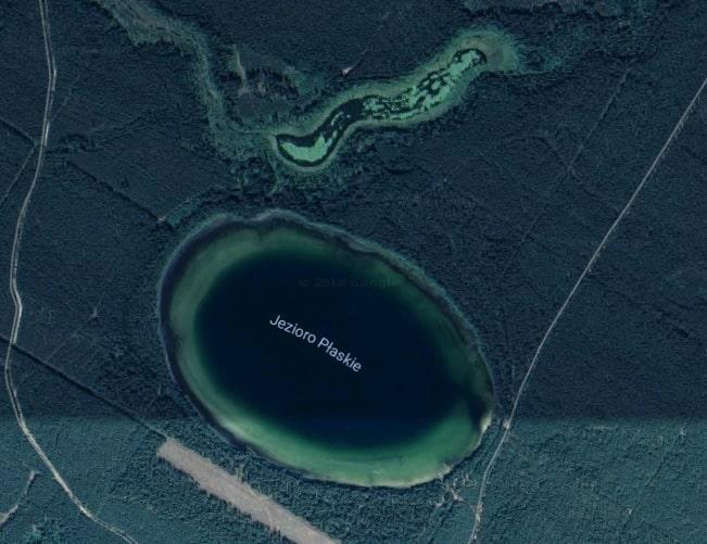 jezioro płaskie suwalszczyzna