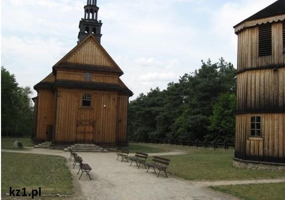 kościół w skansenie