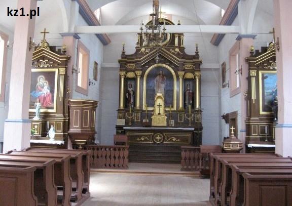 kościół z drążewa