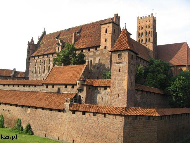 miasto malbork zamek