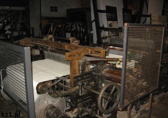 maszyny w fabryce w łodzi