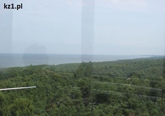 morze bałtyckie widziane z latarni