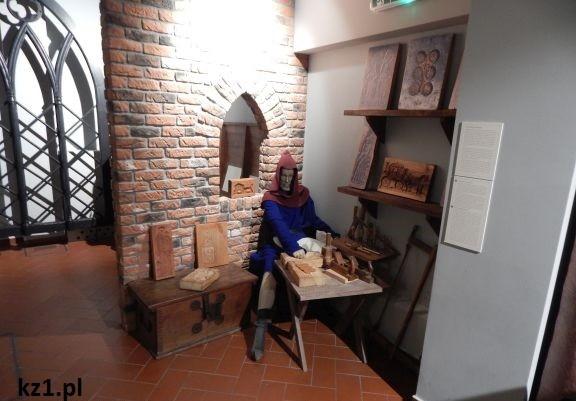 wnętrze muzeum piernika