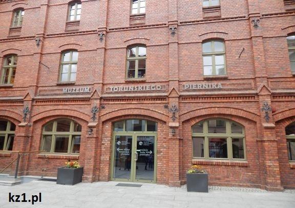 budynek muzuem toruńskiego piernika