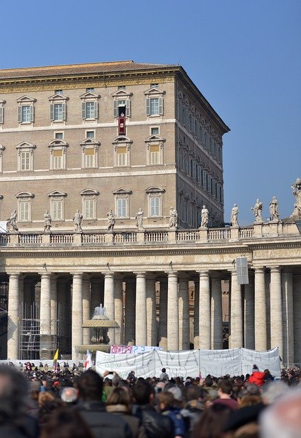Pałac w Watykanie, pałac apostolski
