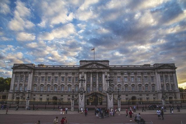 Pałac w Londynie Buckinham