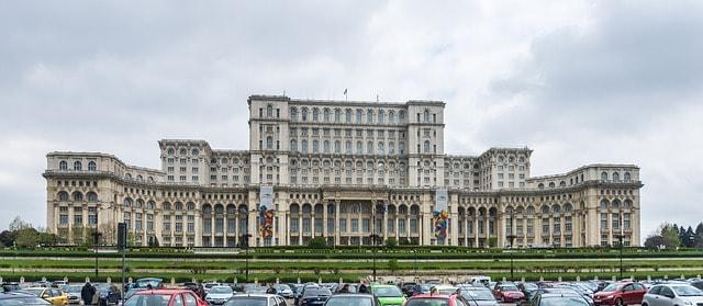 Pałac w Bukareszcie