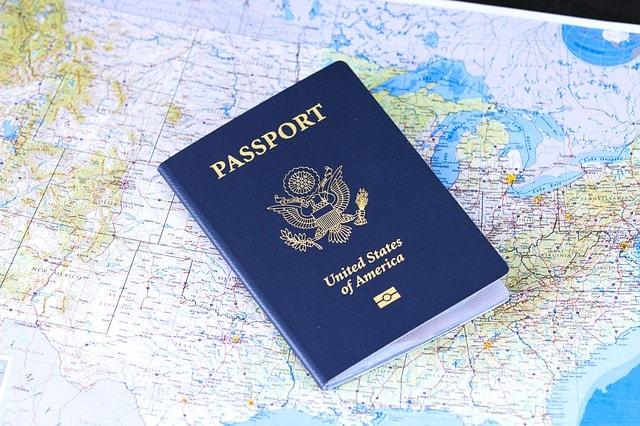 niebieski paszport