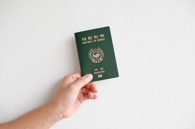 zielony paszport
