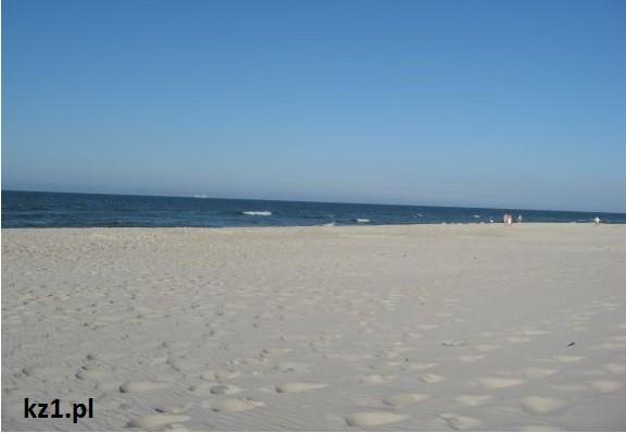 plaża piaszczysta w jastarni