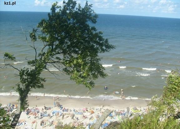 plaża jastrzębia góra