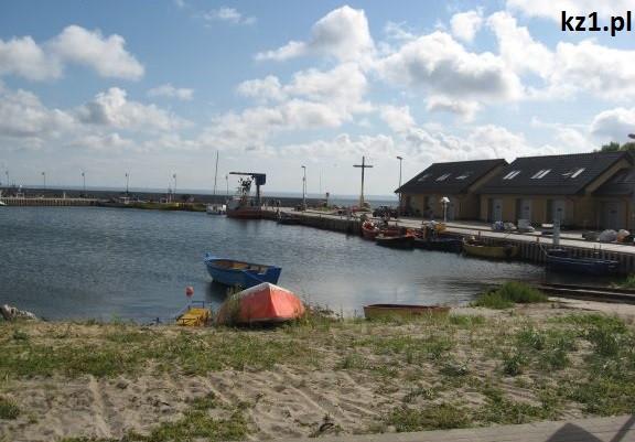 port rybacki w kuźnicy