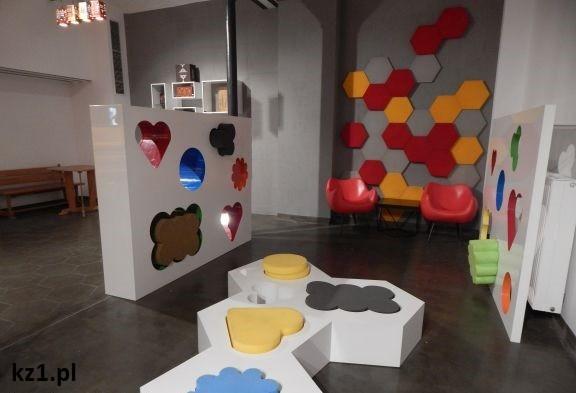 miejsce do zabawy dla dzieci w muzeum piernika