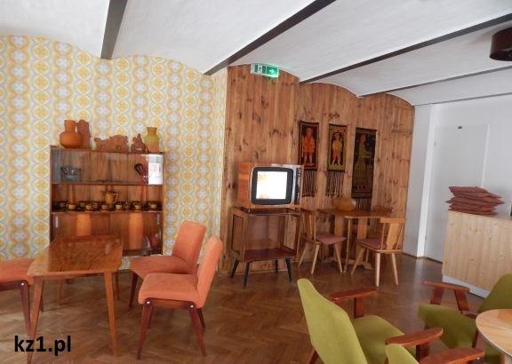 dawny salonik w prl-u