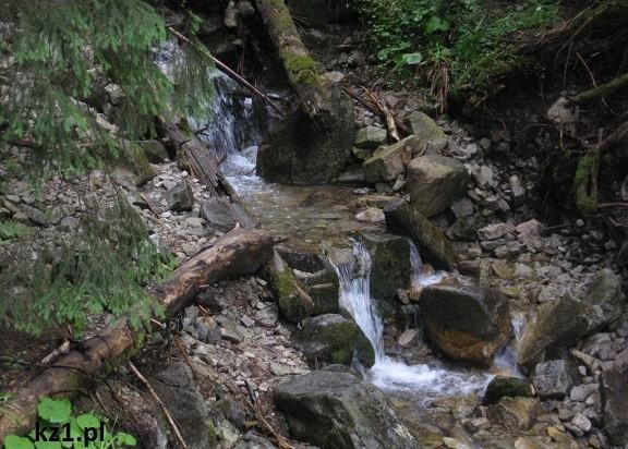 strumyk w górach
