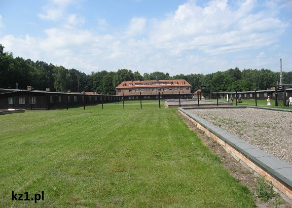 widok na obóz
