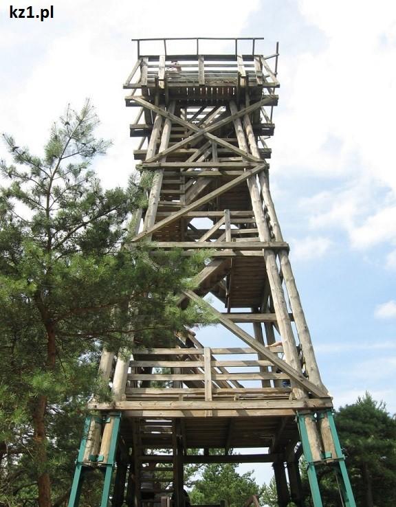 wieża widokowa w wyrzutni rakiet