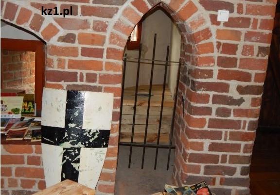 tarcza krzyżacka w muzeum