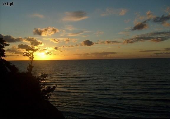 zachód słońca jastrzębia