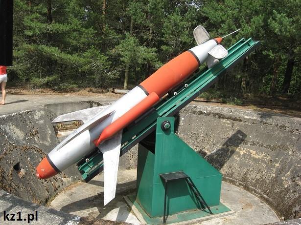Wyrzutnia rakiet w Rąbce