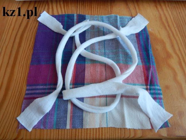 sznurki do wiązania maseczki